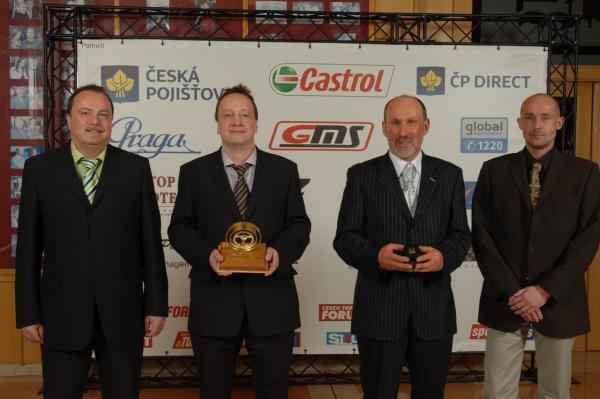 Držitelem Zlatého volantu za rok 2012 je Miloš Beneš