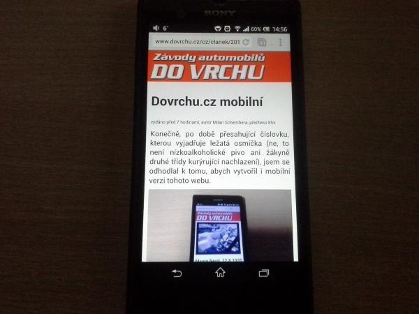 Dovrchu.cz mobilní