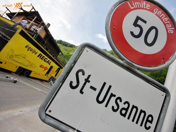 Italové opanovali sobotnímu uplakanému tréninku v Saint Ursanne