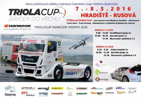Triola cup 2016 – Pozvánka na kopec kopců  7.-8.5.2016