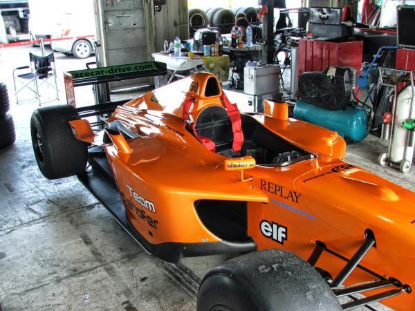 BOSS GP na Monze úřadovali Stratford a Gerstl s F1