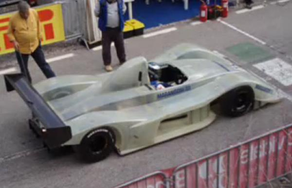 Simone Faggioli poprvé testoval Osellu FA30 !!