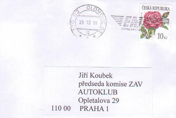 Dostal jsem anonym ze Šternberka...